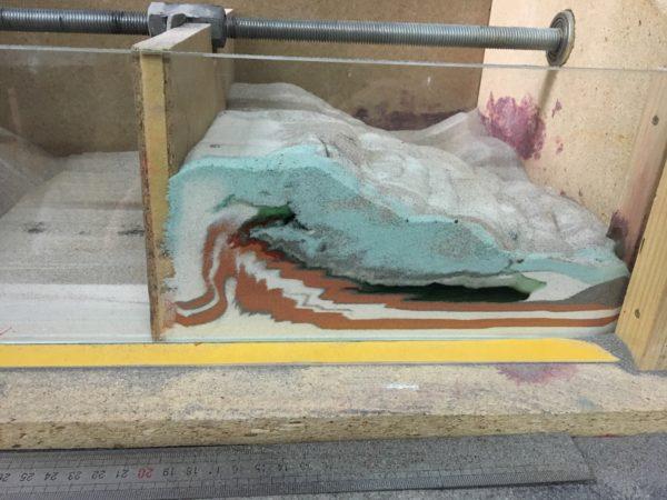Experiment analog utilizând cu cutia cu nisip…