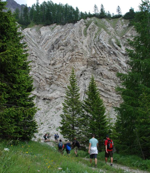 Gipsuri permiene în Dolomiți