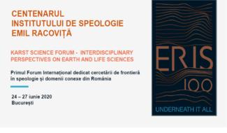 CENTENARUL INSTITUTULUI DE SPEOLOGIE EMIL RACOVIȚĂ