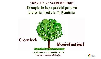 Concurs de scurtmetraje cu exemple de bune practici  pe tema protecţiei mediului în România